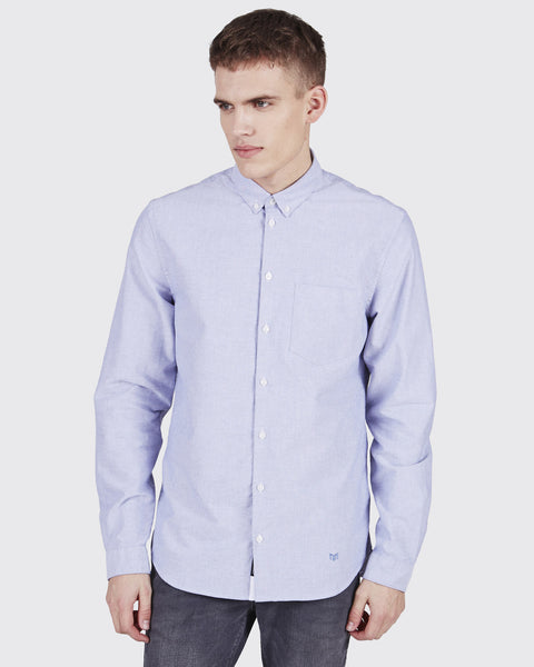 Minimum Jay Shirt Medium Blue
