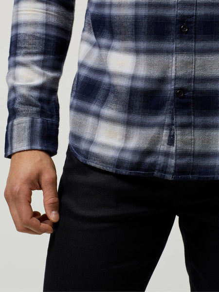 Selected Homme Flannel Shirt LS Blue Check