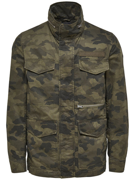 Only & Sons Military Utility Camo Jacket