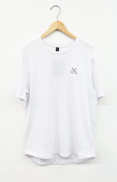 Banjo x State Concepts Dri-Release SS Loose Fit Tee White
