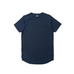 Publish S/S Pocket Knit Tee Navy
