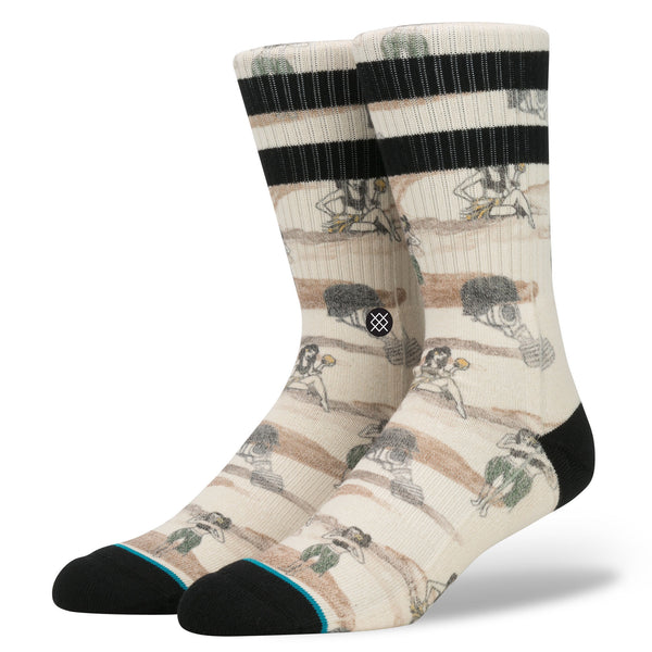 Stance Hickman Off White