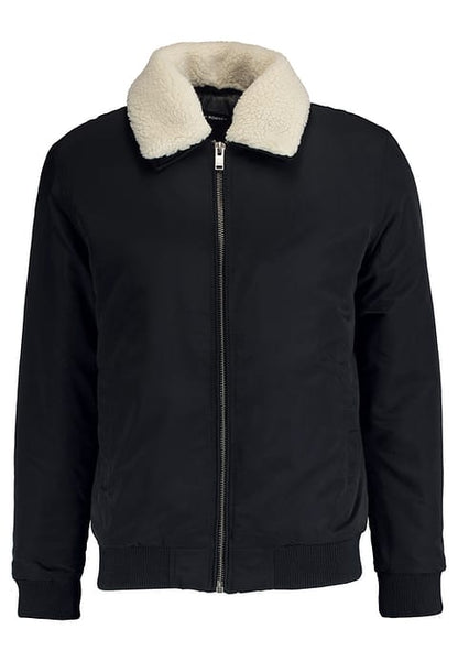 Selected  Homme Sherpa Bomber Jacket