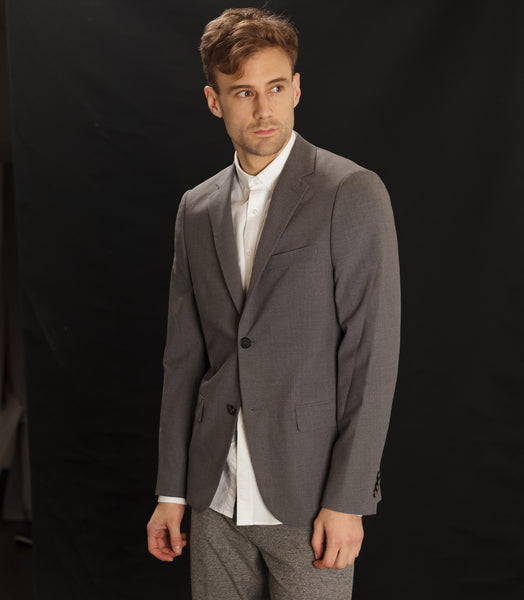 National Standards Suit Jacket Grey