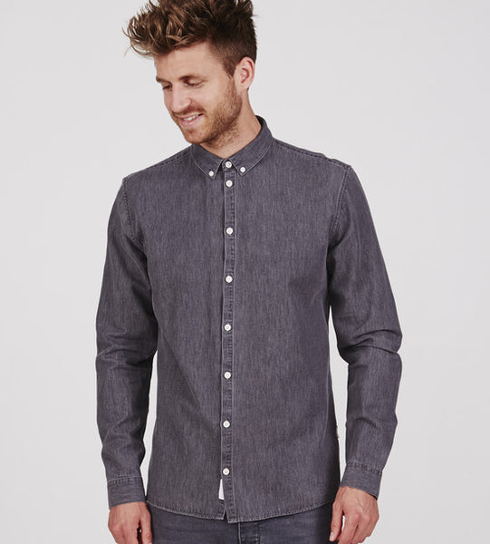 Minimum Barden Shirt Medium Grey