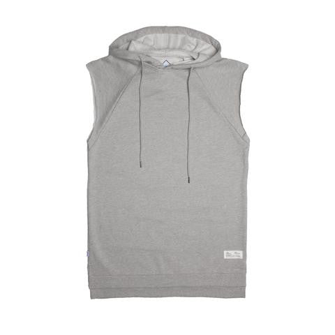 Fairplay Roone Cut-Off Pullover Hoody Heather