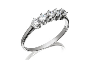 Five Stone Ring - Forever Lovely Jewellery