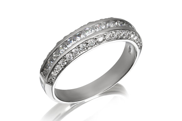Pave Wave Ring - Forever Lovely Jewellery