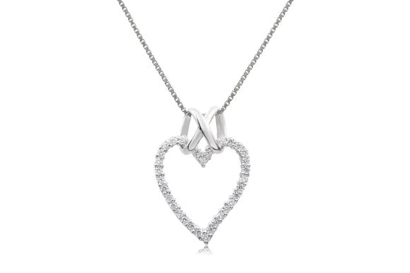 Infinity Heart Necklace - Forever Lovely Jewellery
