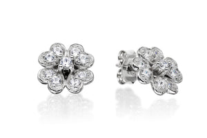 Four Leaf Clover Studs - Forever Lovely Jewellery