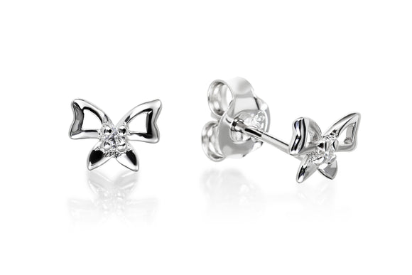 Bow Studs - Forever Lovely Jewellery