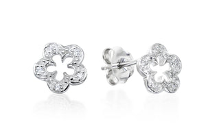 Open Flower Studs - Forever Lovely Jewellery
