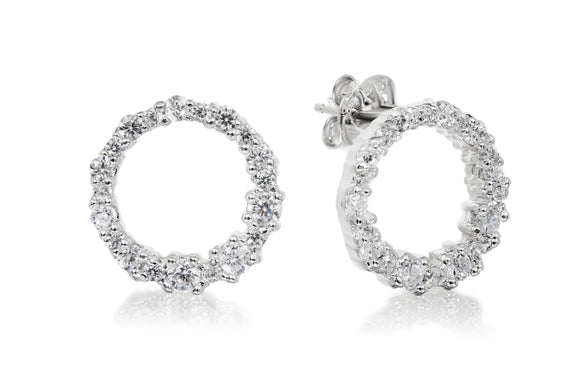 Wreath Studs - Forever Lovely Jewellery