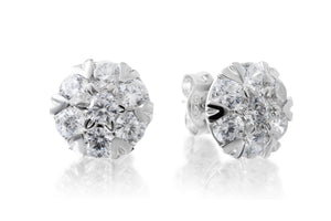 Flower Studs - Forever Lovely Jewellery