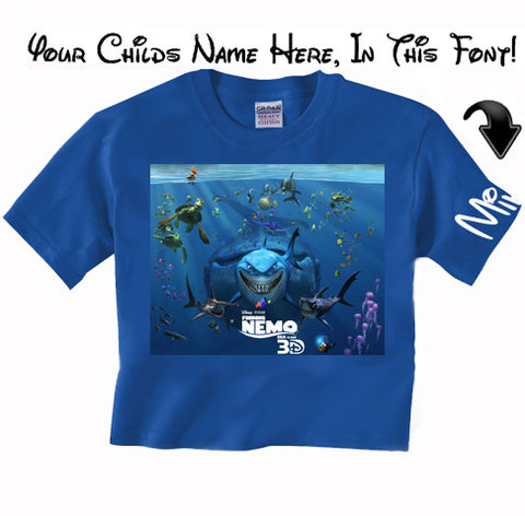 Nemo Movie Disney T Shirt