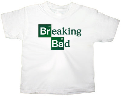 AMC Breaking Bad logo T shirt in White