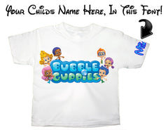 Custom Name Childrens T Shirts
