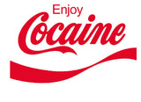 Enjoy Cocaine Logo