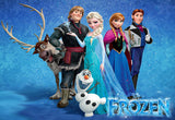 Frozen movie Disney logo