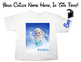 Elsa Frozen T Shirt
