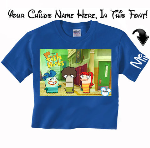 Disney's Fish Hooks shirt