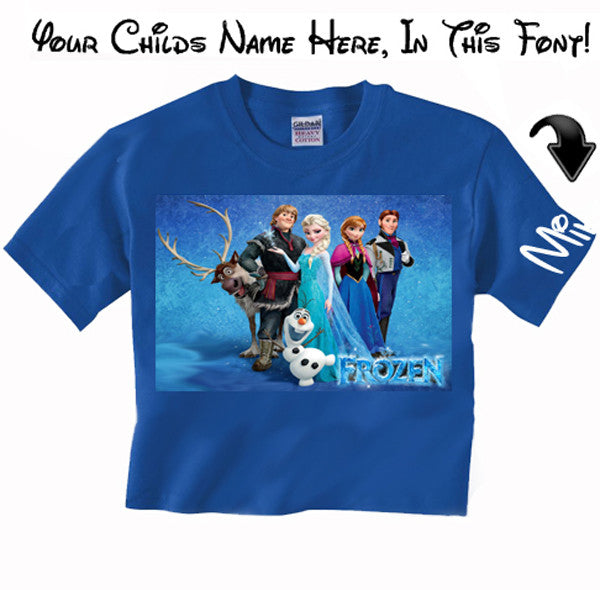 Frozen movie Disney T Shirt