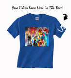 Lego Movie T Shirt Blue