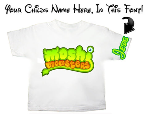 Moshi Monsters Logo T Shirt