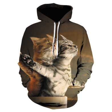 3D Lion Tiger Hoodie High Quality Hoodie for Men and Women 3D Lion Tiger Jersey Street Style