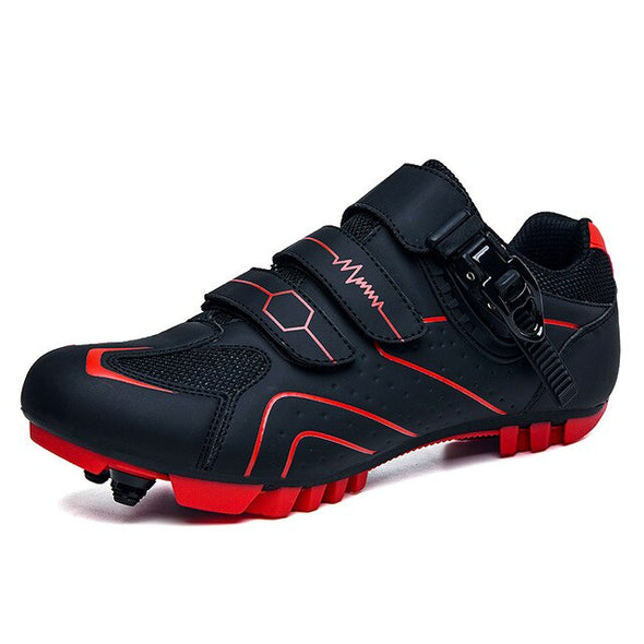 self-locking professional breathable cycling shoes