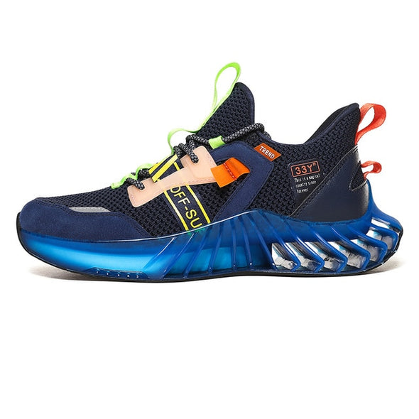 Men's  High-quality  Lace-up Breathable Running Sneakers