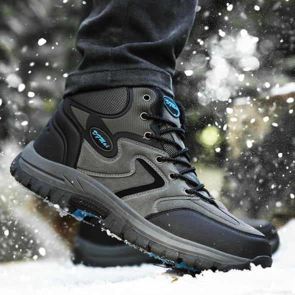 High Quality Autumn Winter Outdoor Waterproof  Anti-skid Sneakers