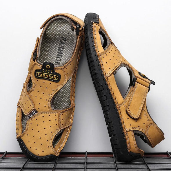 Summer New Genuine Leather Comfortable Sandals
