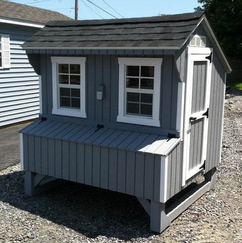 Quaker Chicken Coop