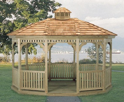 Pressure Treated Colonial Gazebo