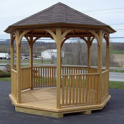 Pressure Treated Majestic Gazebo