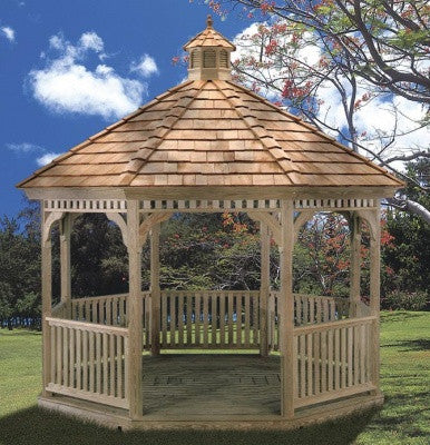 Pressure Treated Ivanwood Classic Gazebo