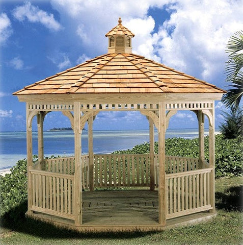 Pressure Treated Ivanwood Gazebo
