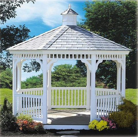 Vinyl Ivanwood Gazebo