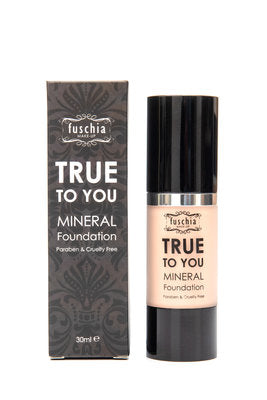 Fuschia True To You Mineral Foundation