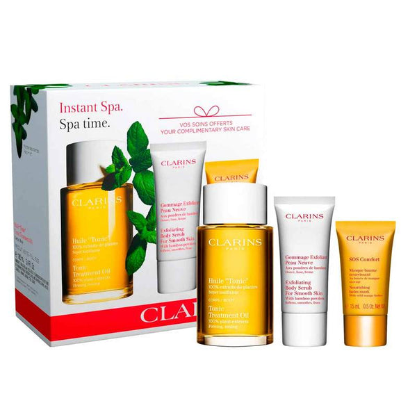 Clarins Instant Spa - Tonic Treatment Oil Special Offer