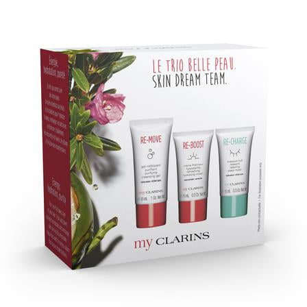 My Clarins SKin Dream Team