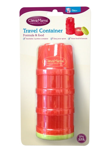 Clevamama Travel Food Container