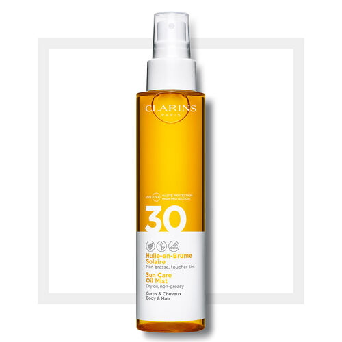Clarins Sun Care Body Oil-in-Mist UVA/UVB 30