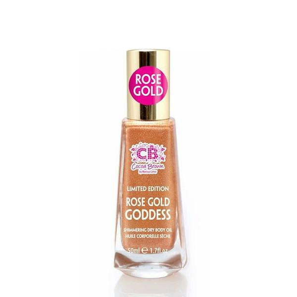 Cocoa Brown Rose Gold Shimmering Body Oil 50ml