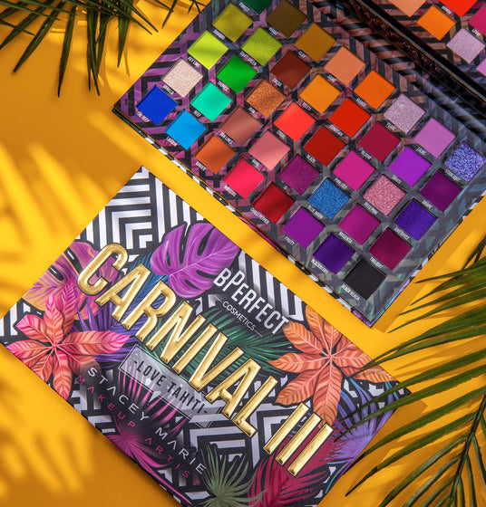 BPerfect X Stacey Marie - Carnival III Love Tahiti Palette