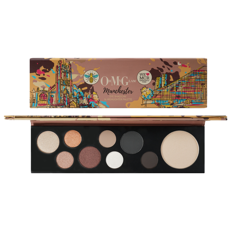 Oh My Glam Manchester Palette