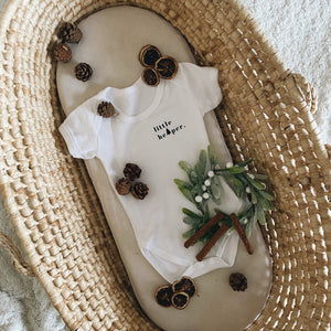 Little Helper Christmas Baby Bodysuit