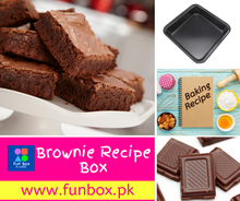 Load image into Gallery viewer, Chocolate Brownie Recipe FunBox