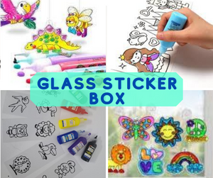 Glass Sticker Box